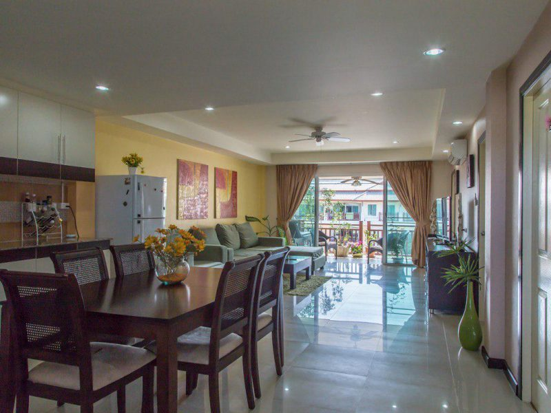 Продажа двухкомнатной квартиры в Palm Breeze Пхукет