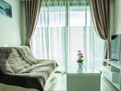 Меблированная двухспальная квартира в Siam Oriental Tropical Garden