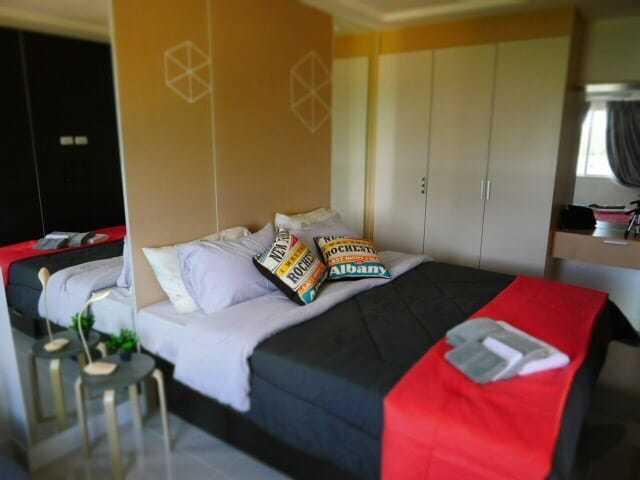1-комнатная в Trio Gems Condominium