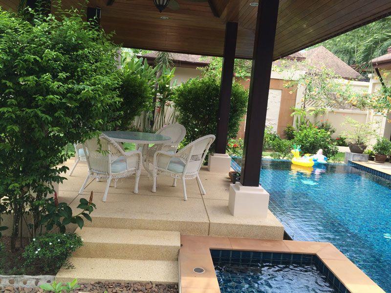 Вилла с 3 спальнями и бассейном рядом с Британской международной школой Пху