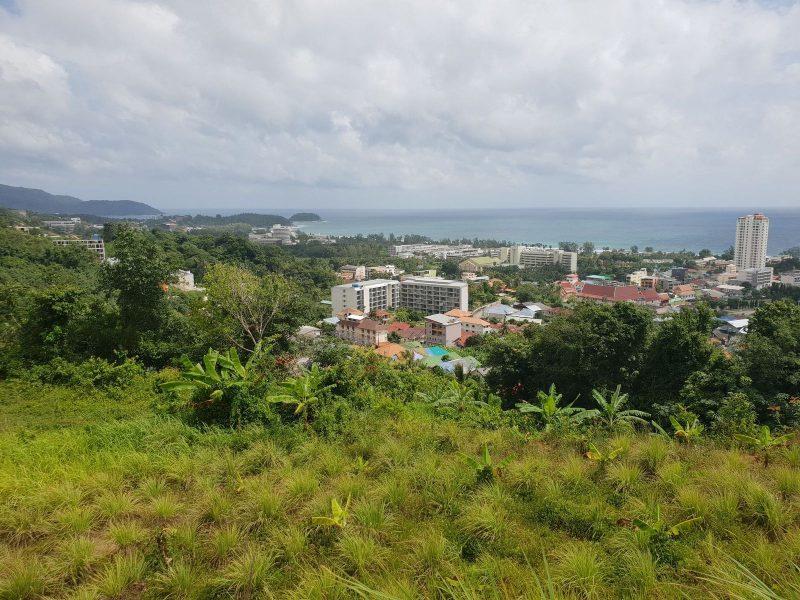 Земельный участок с панорамным видом на пляжи Karon